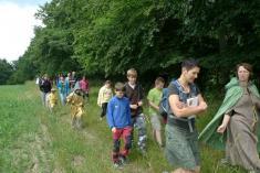 Cesta doHamlíkova - vzpomínka za730. výročí odvedení mladých lidí zHameln.