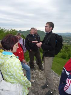 Petr Horák vysvětluje, jak vznikla Pálava.