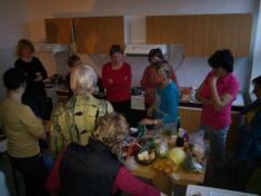 Jíme zdravě? Rozdělování úkolů prospolečné vaření.