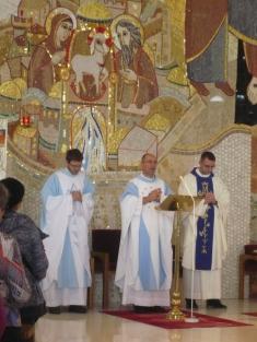 Turzovka, mše sv.s P.Josefem Mikuláškem