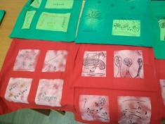 Tvoření vknihovně - zdobení tašek.
