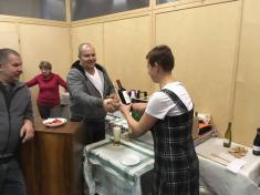 Podomské mlaskání 2019, třetí místo sekaná - Mirek Piňos