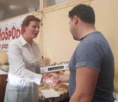 Podomské mlaskání 2020, 3.místo chléb - Dušan Fiala ml.