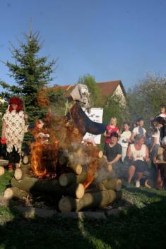Pálení čarodějnic 2012.