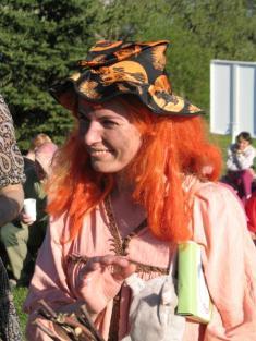 Hrdlořeza Krákoravá, pálení čarodějnic 2012.