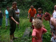 Martin Škrob vyzkoušel děti zeznalosti rostlin.
