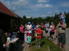 Účast byla také díky krásnému počasí opravdu velká.