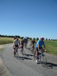 Cyklistický výlet TJ Sokol Podomí - blížíme sek Penzionu Lada