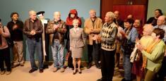 Setkání vMoravském zemském muzeu sezúčastnila PhDr. Helena Markusová, dcera prof.Ervína Černého-Křetínského