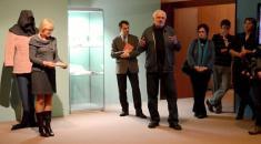 Setkání vMoravském zemském muzeu - naprofesora Ervína Černého-Křetínského vzpomněl jeho žák, přítel apokračovatel, pan Mojmír Režný.