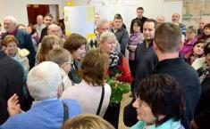 Slavnostní otevření Stálé expozice historie Podomí ajeho významných rodáků - vítání hostů