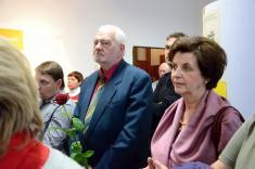 Slavnostní otevření stálé expozice historie Podomí ajeho významných rodáků - pan Mojmír Režný, spolupracovník pana profesora Ervína Černého-Křetínského
